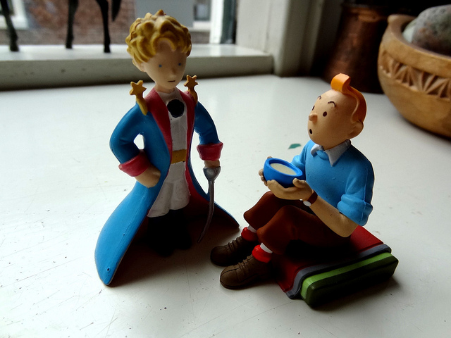 Jim Forest: The Little Prince & Tintin