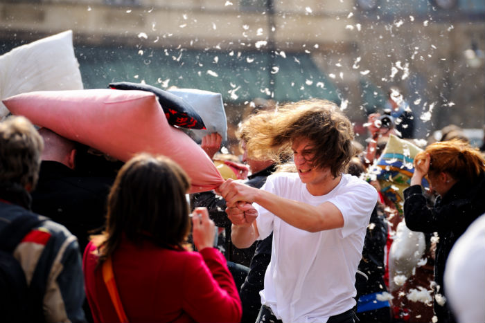 pillowfight